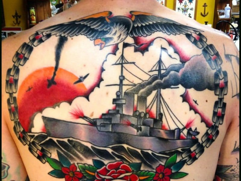 Battleship Tattoos