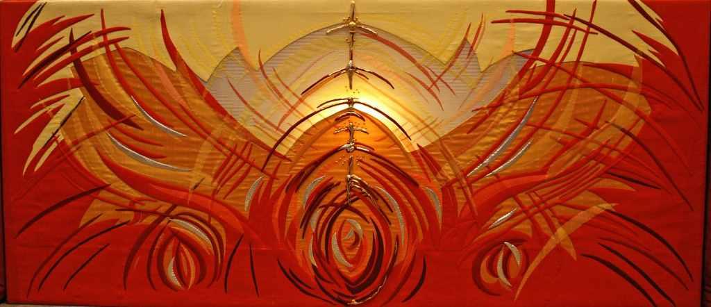 Happy Pentecost Greetings Wallpaper