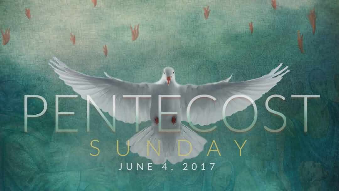 Pentecost Sunday June 2017 Wishes Message Image