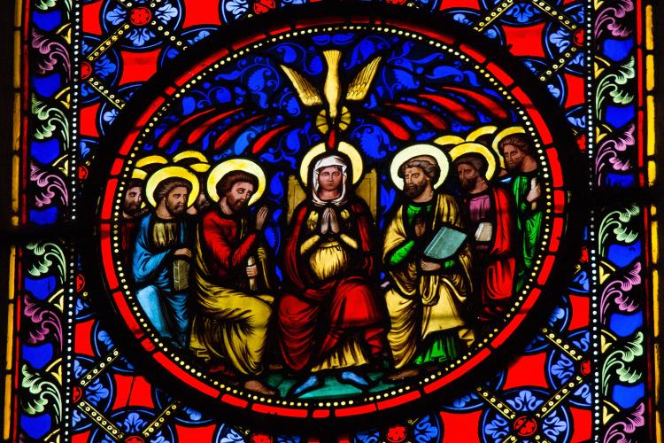 Pentecost Wishes To Friends Image