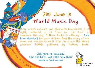 21 June World Music Day Quotes Picture