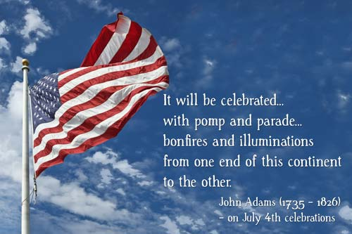 4th July Celebrate Best Wishes Happy Independence Day Quotes Image