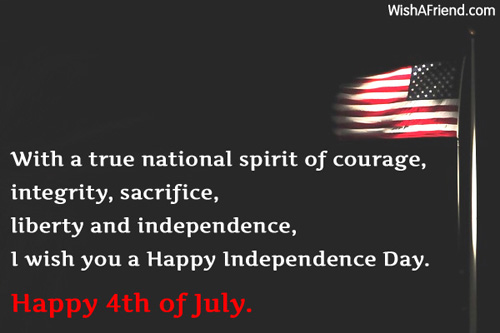 4th Of July Best Wishes Happy Independence Day Wishes And Quotes Image