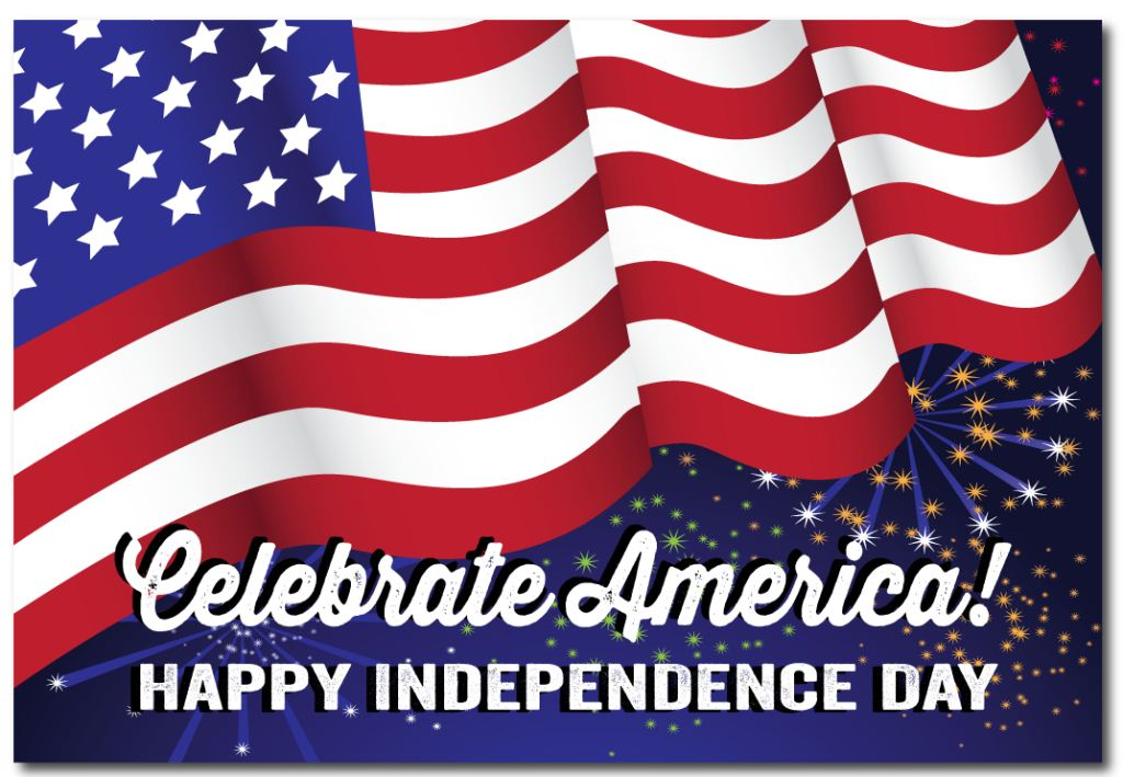 4th Of July Happy Independence Day Best Wishes Wallpaper