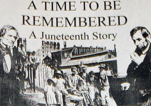 A Time To Be Remembered A Juneteenth Story Message Images