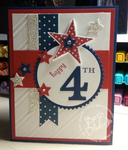Amazing Independence Day 4th Of July Card Idea