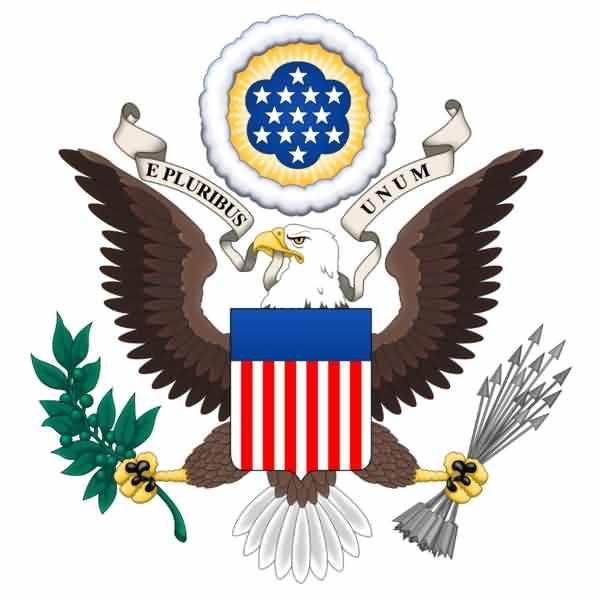 American Eagle Day Greetings Logo