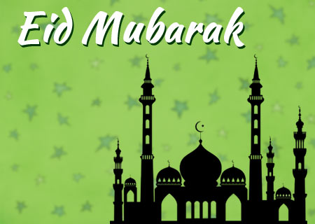 Beautiful Eid al-Fitr Greetings To You And Your Family Picture