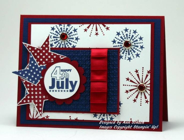 Beautiful Independence Day 4th Of July Wishes Card Image