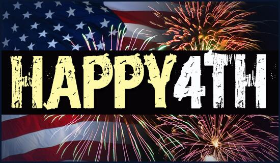 Best Wishes Happy 4th Of July Greetings Message Image