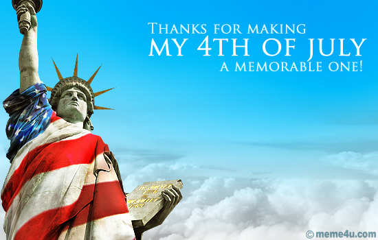 Best Wishes Happy Independence Day 4th Of July Greetings Message Image