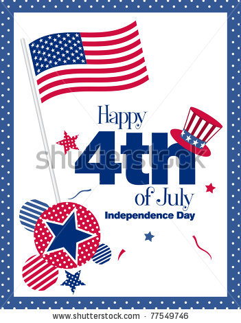 Celebrate 4th Of July Wishes Card For Friends Image