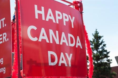 Celebrate Canada Day Greetings Message Image