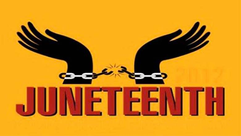 Famous Chain Breaking Juneteenth Logo Image