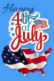 Happy Independence Day 4th Of July Wishes E Card Image