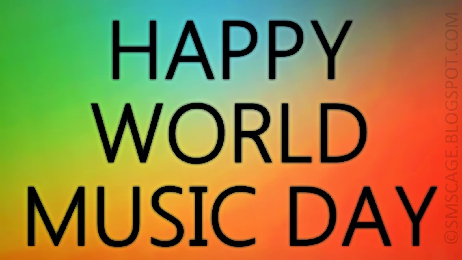 Happy World Music Day 21 June Wishes Image Message