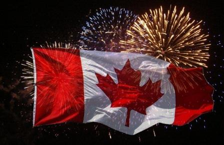Have A Very Happy Canada Day Celebrate Fireworks Wishes Message Picture And Wallpapers