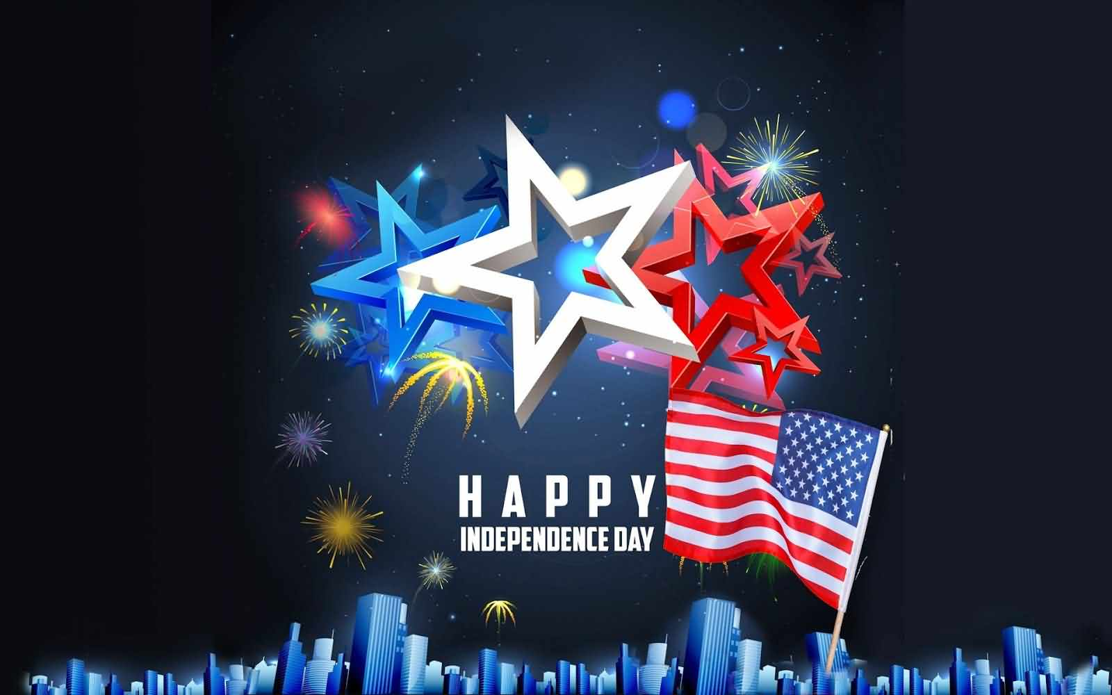 I Love My America Happy Independence Day Wishes Message 4th Of July Greetings Message Image