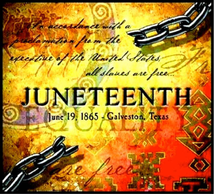 June 19 1865 Juneteenth Wishes Message Image