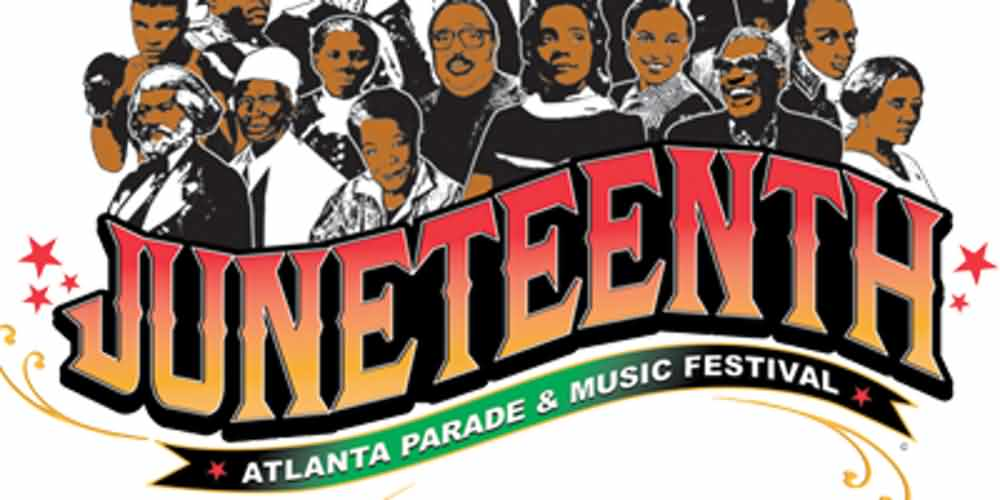 Juneteenth Atlanta Parade And Music Festival Wishes Message Image