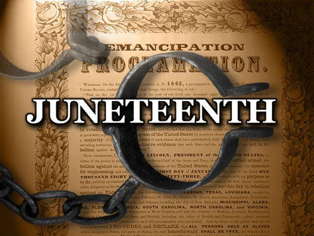Juneteenth Celebrate African American Wishes Message Image