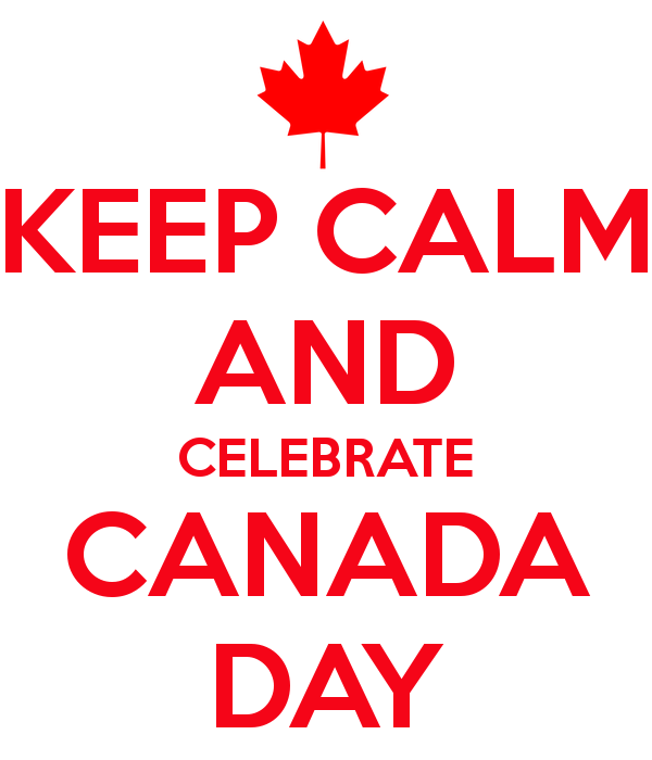 Keep Calm Celebrate Happy Canada Day 1st July Best Wishes Message Image