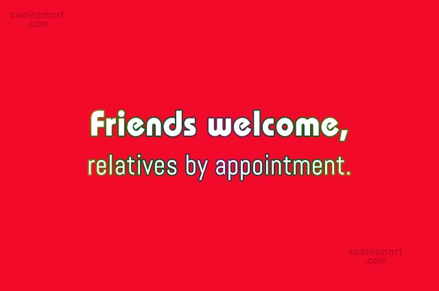 Sarcastic Quotes On Relatives