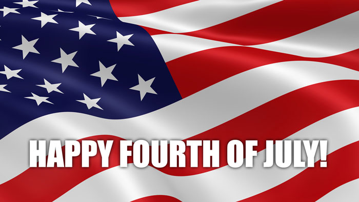 Sending You Wishes Happy 4th Of July Greetings Message Image
