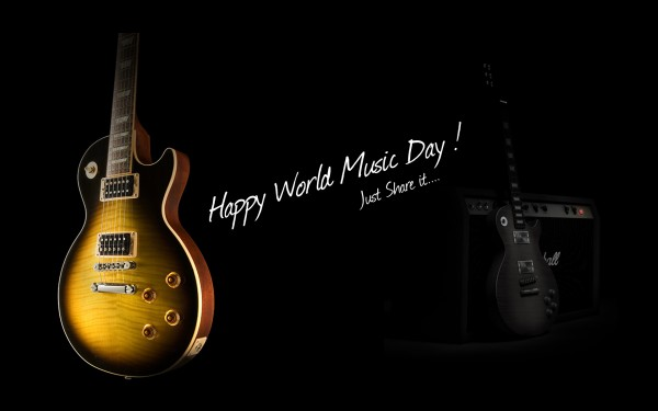To You Have A Great Day Happy Music Day Wishes Wallpaper