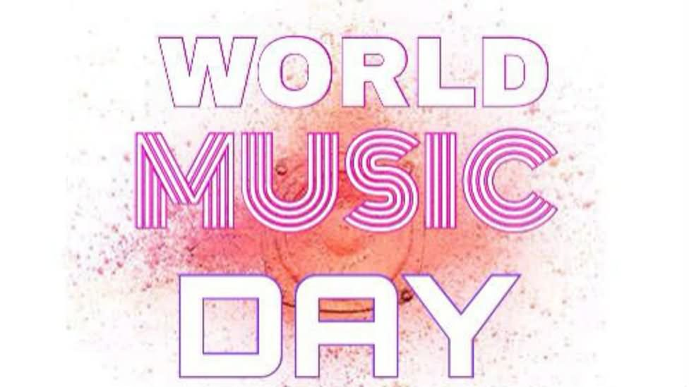 Wish You Joyful Music Day Greeting Message For Friend Image