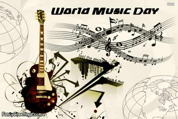 Wish You Very Happy Music Day Wishes Message Image