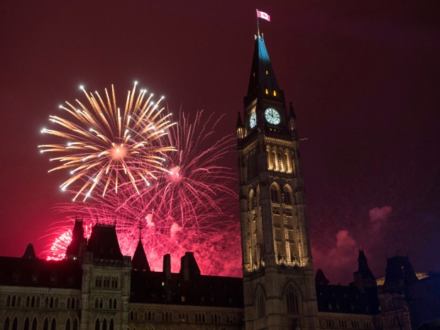Wishing You And Your Family Happy Canada Day Greetings Wishes Message Image