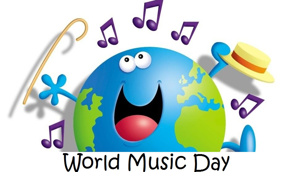 Music Day Enjoy You Day Wishes Message Image
