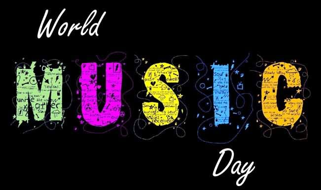 Wonderful Music Day Enjoy You Day Wishes Message Wallpaper