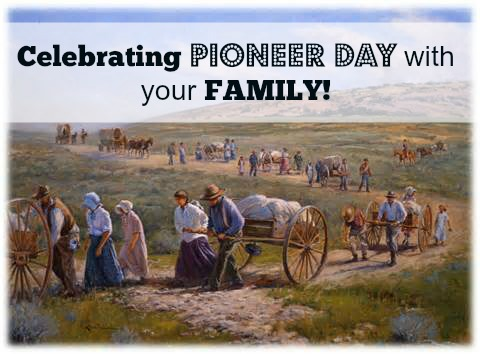 Wishing You A Very Happy Pioneer Day Greetings Ecard Message Image