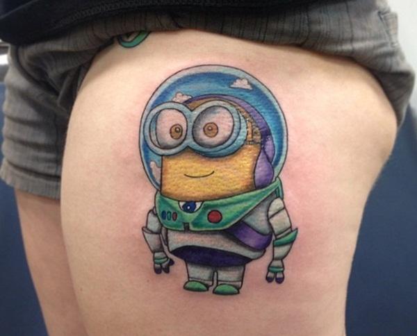 Cartoon Tattoo