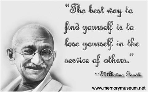 Mahatma Gandhi Quotes Sayings 16