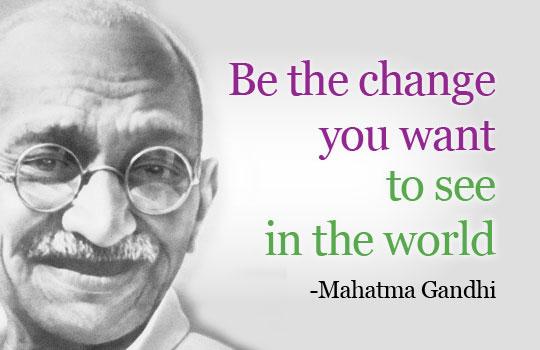 Mahatma Gandhi Quotes Sayings 18