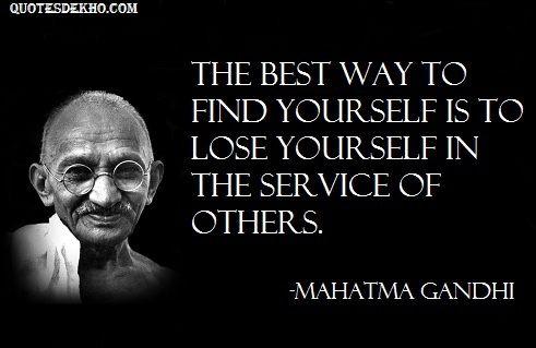 Mahatma Gandhi Quotes Sayings 26