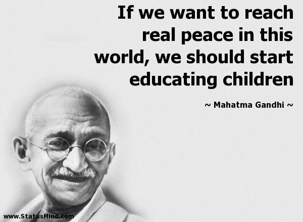 Mahatma Gandhi Quotes Sayings 28