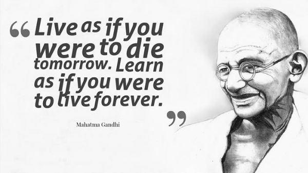 Mahatma Gandhi Quotes Sayings 29