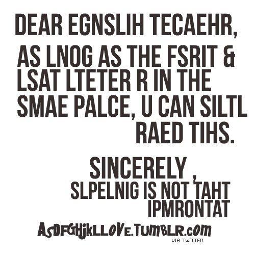 Funny Quotes About English Class