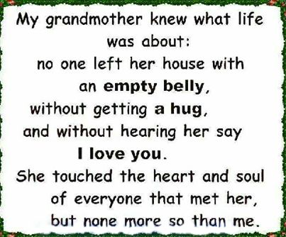 Remembering Grandmother Quotes