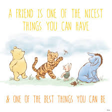 A friend is one of the nicest