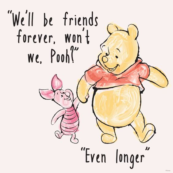 We'll be friends forver won't'