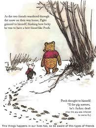 winnie the pooh friendship with their friends