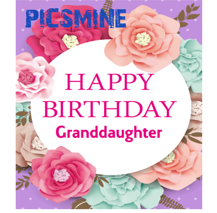 Happy Birthday To My Granddaughter Happy Birthday Granddaughter